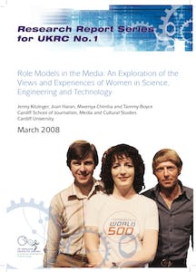 Role models in the media: An exploration of the views and experiences of women in SET