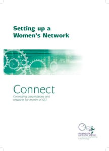 Setting up a women's network: Good practice guide