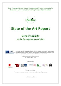 State of the art report - Gender equality in Europe - GeCo project