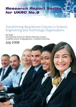Transforming boardroom cultures in SET organisations