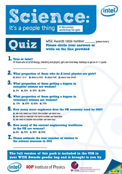 Intel Quiz