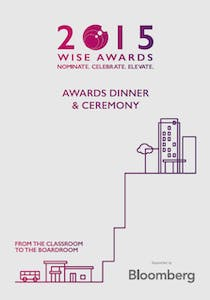 WISE Awards 2015 Role Model booklet