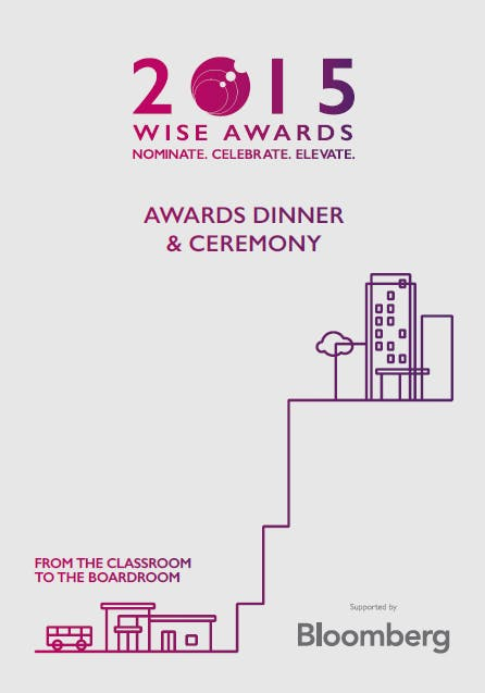 WISE Awards Role Model Booklet
