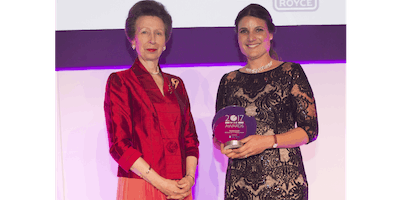 Amelia Gould - Winner of the 2017 WISE Woman in Industry Award