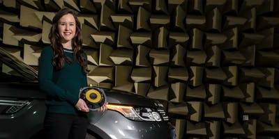 Orla Murphy, audio engineer at Jaguar Land Rover