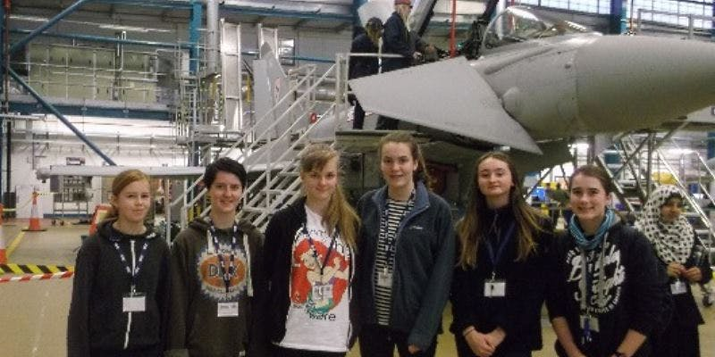 RAF STEM engineering work placement