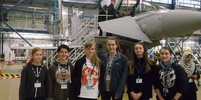 RAF STEM engineering work placement