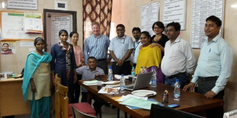 Sonia Karkare-India trip 2015 with TGF
