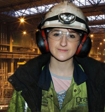 Charlotte Bernard, Apprentice Mechanical Engineer