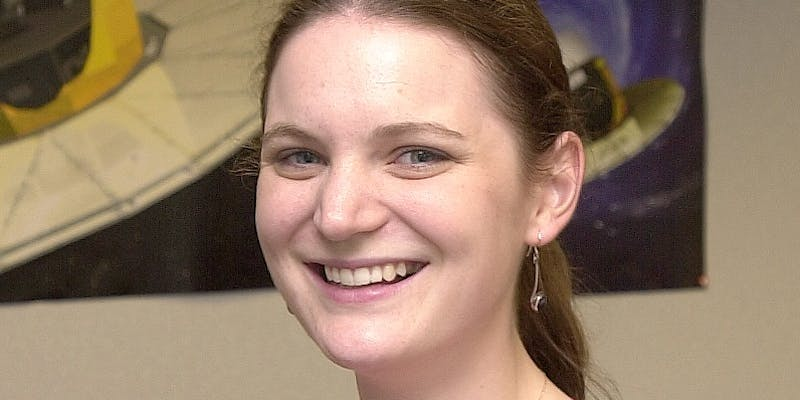 Vicky Hodges - An Airbus Group spacecraft sub-systems engineer