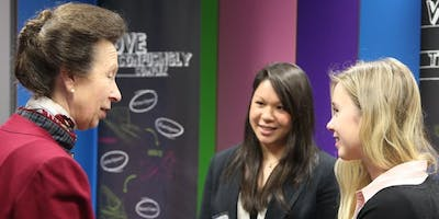 Princess Royal meets next generation of women scientists and engineers at WISE Student Colloquium
