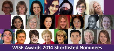 WISE Awards 2014 Shortlisted Nominees