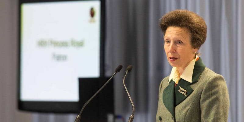 HRH The Princess Royal joins celebration of women in engineering at Rosyth, Scotland