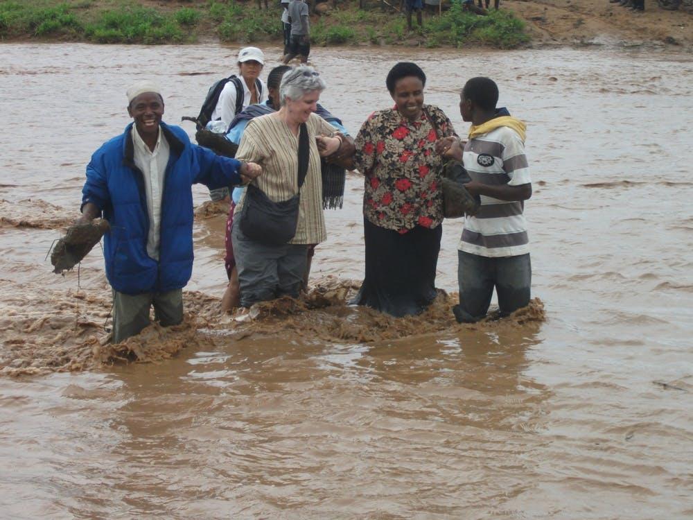 Sarah in Tanzania 2010