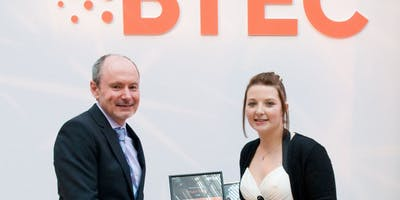 17 year old Megan Turner  wins Outstanding BTEC Student of the year