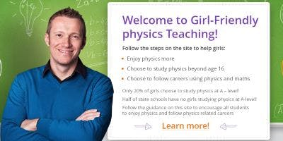 Girl Friendly Physics website