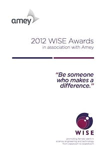 WISE Awards 2012 Role Model booklet