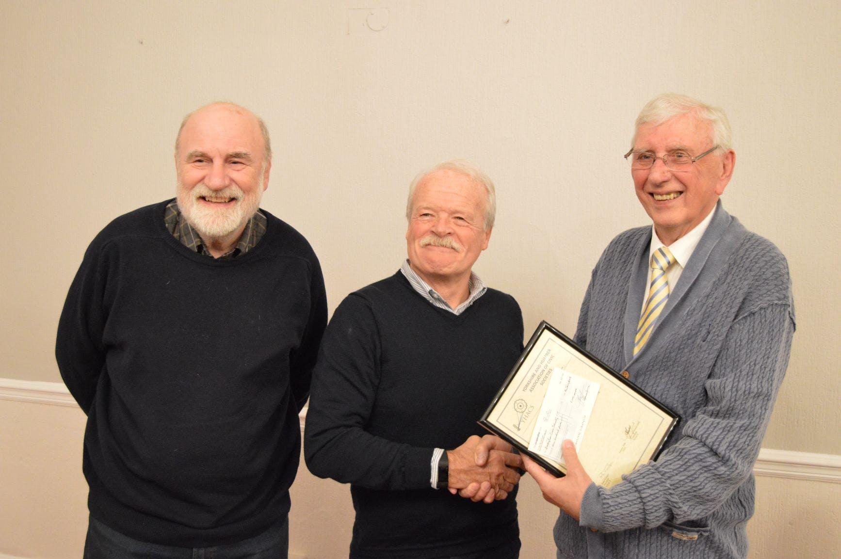 Addingham Civic Society win second prize