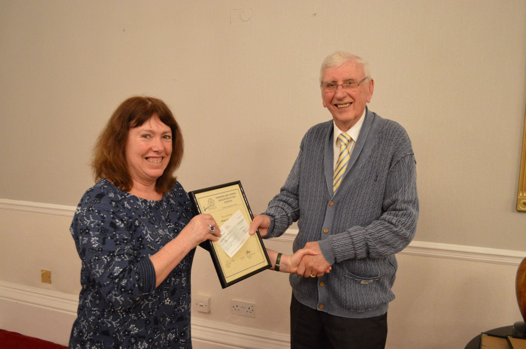 Whitby Civic Society win third prize