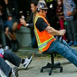 office chair racing