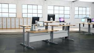 height adjustable electric desks