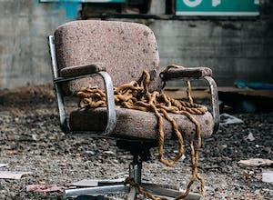 Old Broken Office Chair