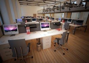 Modern Office Bench Desk