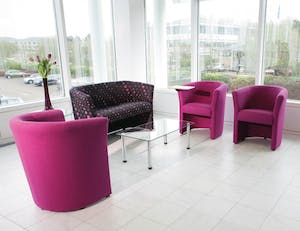 Reception furniture can create a great impression of your business